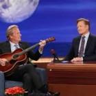 Jeff Daniels Performs on Conan with Custom Martin Guitar