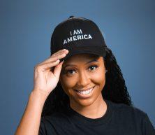 I Am America Baseball Cap